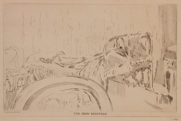 Walter Richard SICKERT R.A. N.E.A.C. (1860-1942) - 'The Iron Bedstead' (RB 163).