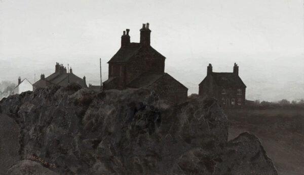 SIMCOCK Jack (1929-2012) - 'From Wood Street, Mow Cop'.