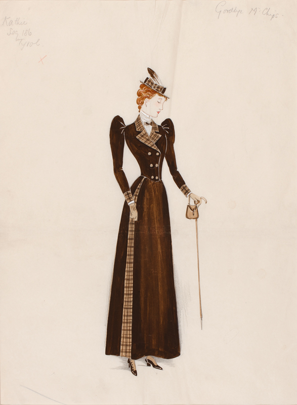 SIMMONS B.J. & Co, of Covent Garden. 1939. - 'Kathie' in Tyrolean walking outfit.