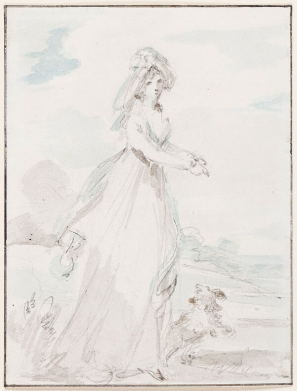 SINGLETON Henry (1766-1839) - The Morning Walk.