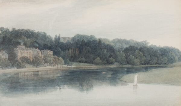 SMIRKE Mary (1779-1853) - Richmond from the Thames.