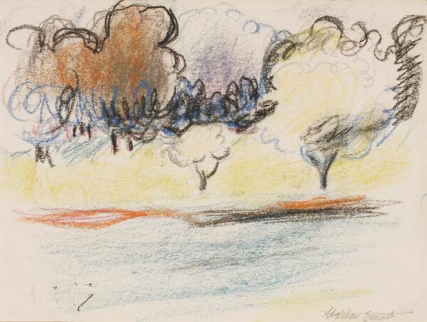 SMITH Sir Matthew L.G. (1879-1959) - The Little Lake.