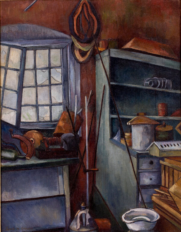 SPENCER Pamela (1924-2012) - The Outhouse.