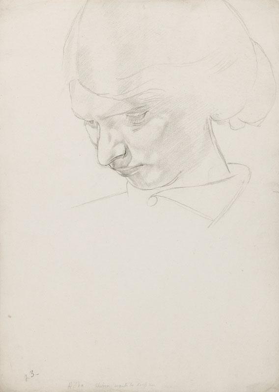 SPENCER Sir Stanley R.A. (1891-1959) - 'Hilda'.