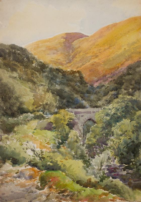STANNARD Henry John Sylvester (1870-1951) - Highland valley.