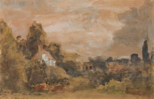 STEER Philip Wilson N.E.A.C. (1860-1942) - Near Ironbridge, Shropshire.