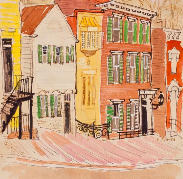 STONEHOUSE M.B.E. Brian (1918-1998) - ?New York.