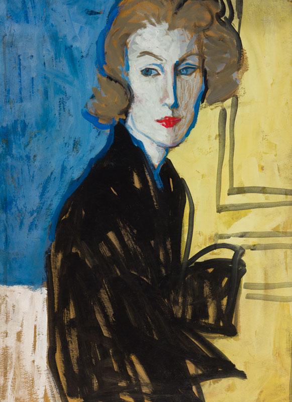 STONEHOUSE M.B.E. Brian (1918-1998) - Watercolour and gouache on card.