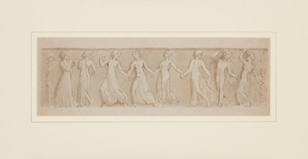 STOTHARD Thomas (1755-1834) - Frieze design, possibly for the unrealized decorations at Buckingham Palace.