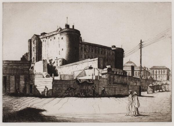 STRANG William R.A. R.E. (1859-1921) - 'Castel Nuovo'.