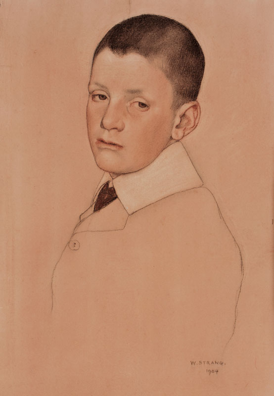 STRANG William R.A. (1859-1921) - 'Will Hodson'.