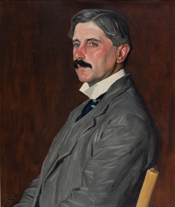 STRANG William R.A. (1859-1921) -  Arthur Clifton (1863-1932) Oil on canvas.