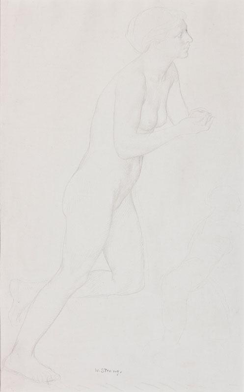 STRANG William R.A. (1859-1921) - 'Eve'.