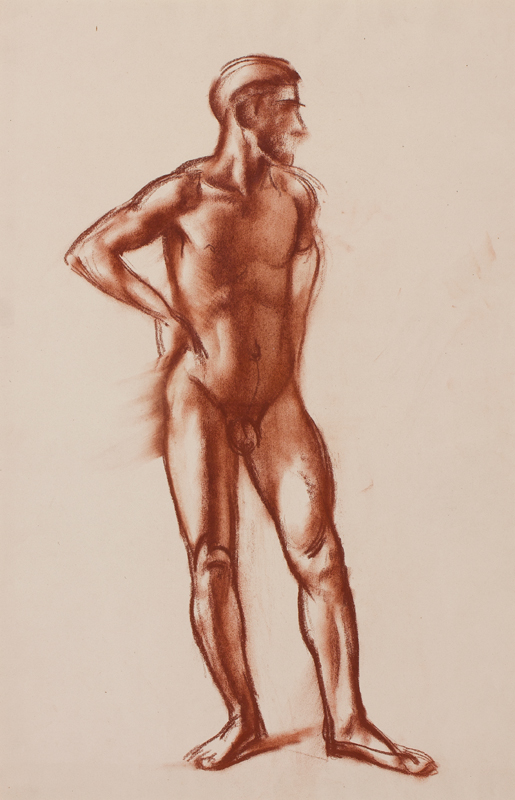 STROUDLEY James (1906-1988) - Study from the Male Nude.