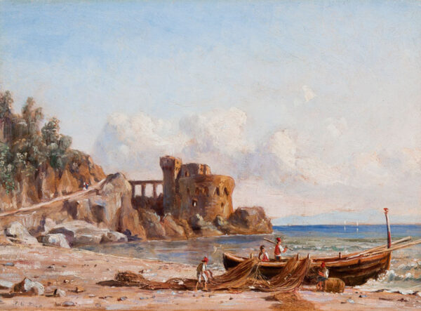 STRUTT Jacob George (1790-1864) - The Bay of Naples.