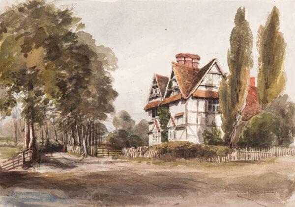 CRICHTON-STUART Lady James (Nee Hannah Tighe) (1800-1872) - Worcestershire.
