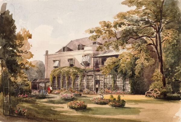 CRICHTON-STUART Lady James (Nee Hannah Tighe) (1800-1872) - Kent.
