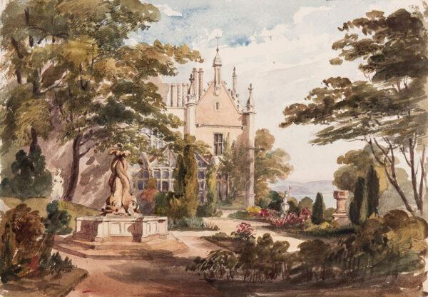 CRICHTON-STUART Lady James (Nee Hannah Tighe) (1800-1872) - 'Singleton near Swansea'.