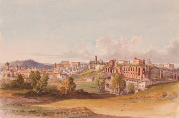 CRICHTON-STUART Lady James (Née Hannah Tighe) (1800-1872) - 'Ruins of the Palace of the Caesars'.