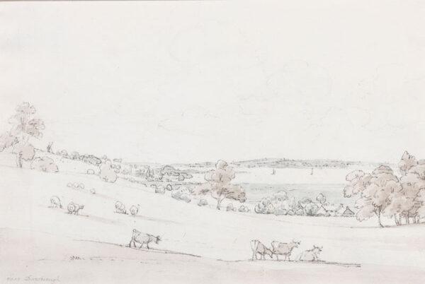 SUNDERLAND Thomas (1743-1823) - Lancashire landscape.