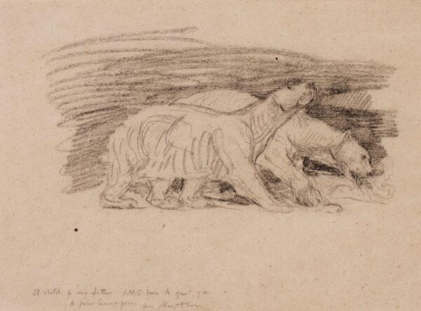 SWAN John Macallan R.A. R.W.S. (1847-1910) - Polar Bears.