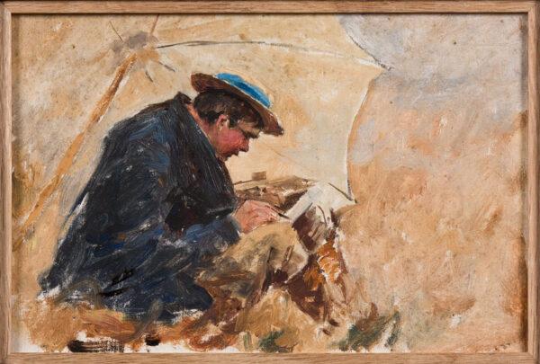 "SWANWICK Harold (Joseph) R.I. R.O.I. (1866-1929) - Twenty five en plein air oil paintings""https://abbottandholder-thelist."