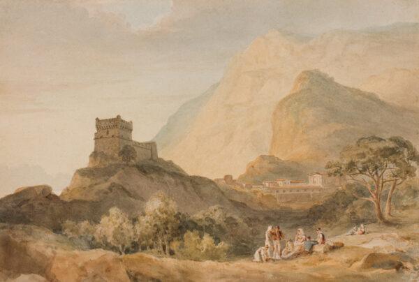 SWINBURNE Henry (1743-1803) - Capriccio : on the Italian Coast.