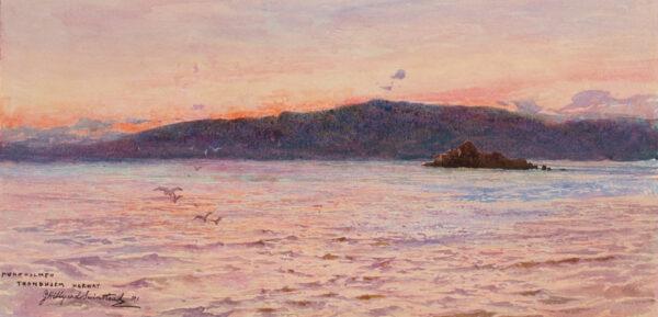 SWINSTEAD George Hillyard R.I. (1860-1926) - Norway.