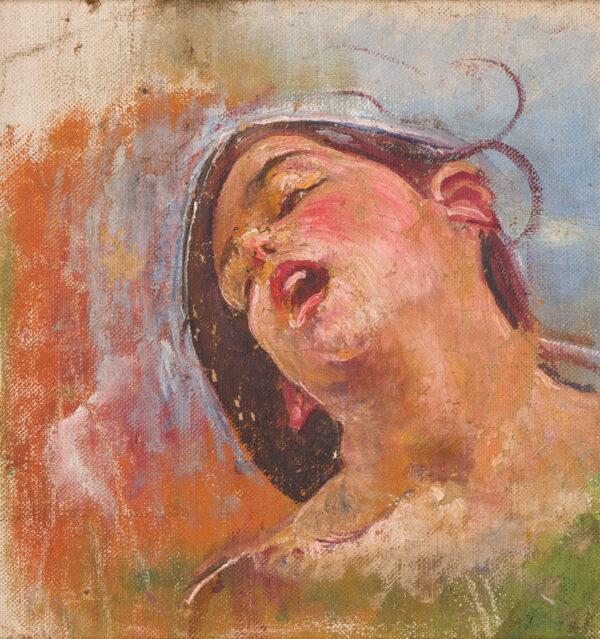 SWYNNERTON A.R.A. Annie (1844-1933) - Head of a girl.
