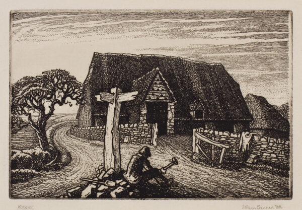 TANNER Robin (1904-1988) - 'Road Maker'.