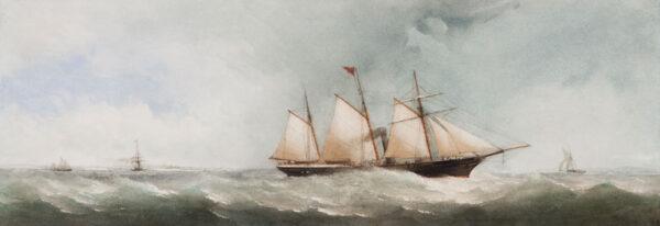 TAYLOR Charles Jnr (c.1840-1871) - Sail and Steam.