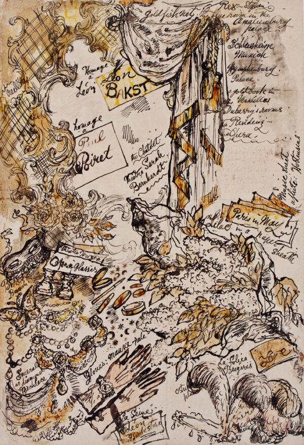 TENNANT Stephen (1905-1987) - 'La Dame aux Camellias/ or possibly 'La Traviata'.