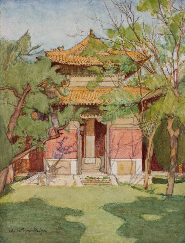 THARLE-HUGHES Elfrida (Exhibited 1910-1939) - China.