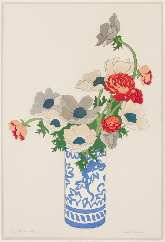 THORPE John Hall (1874-1947) - The Chinese Vase.