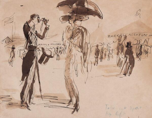 TOPOLSKI Feliks R.A. (1907-1989) - The London Spectacle.