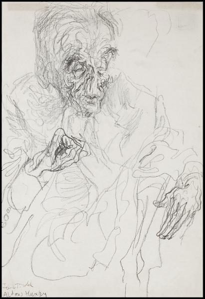 TOPOLSKI Feliks (1907-1989) - 'Aldous Huxley'.