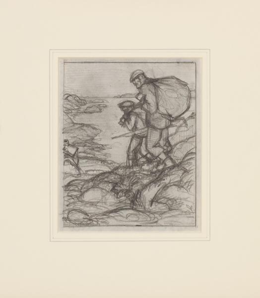 TUNNICLIFFE Charles Frederick O.B.E. R.A. R.E. (1901-1979) - Wildfowlers.