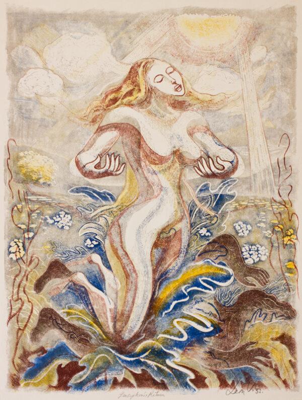 UNDERWOOD Leon (1890-1975) - 'Persephone's Return'.