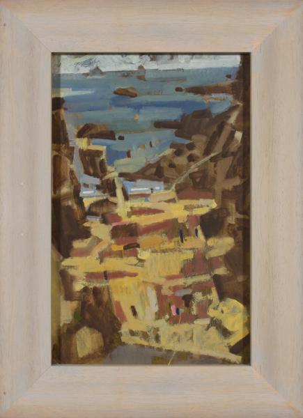 UPTON Michael (1938-2002) - 'Rocky Beach', Cornwall.