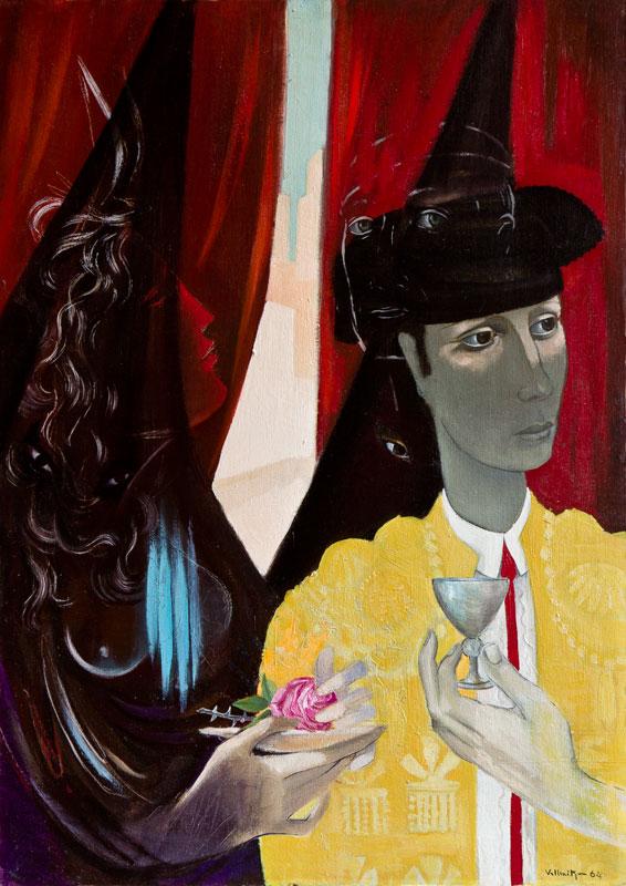 VALLMITJANA Abel (Spanish, 1909-1974) - 'Bullfighter'.