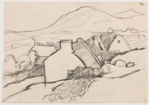 VAUGHAN Keith (1912-1977) - Irish landscape.