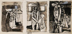 VAUGHAN Keith (1912-1977) - 'Triptych'.