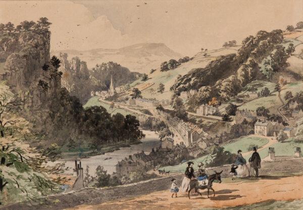 VAWSER George Richard (1800-1888) - Derbyshire.