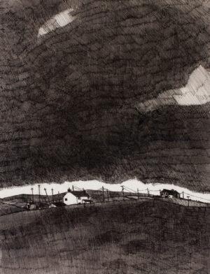 VIRTUE John (b.1947) - Haworth, Yorkshire.