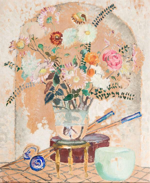 WADDINGTON Vera (1886-1954) - 'Decoration'.