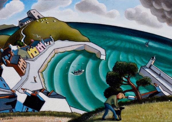 WADE Jonathan Armigal (b.1960) - 'Sea Breeze'.