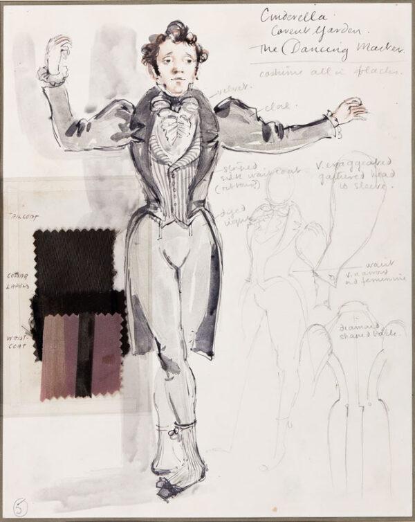 WALKER David (1934-2008) - 'Cinderella / The Dancing Master / Covent Garden'.