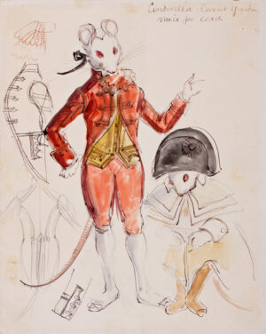 WALKER David (1934-2008) - 'Cinderella / Mice for Coach / Covent Garden'.