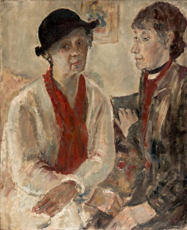 WALKER Dame Ethel N.E.A.C. (1861-1951) - The Companions.