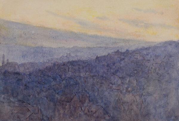 WALLIS Rosa (1857-c.1939) - 'Bath'.